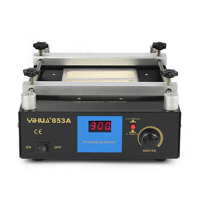 SMD PCB Preheater bga Rework Station Preheating Oven Station YH-853A 220V 600W