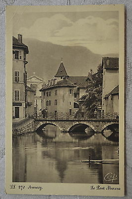 """CPA """" ANNECY - Le Pont Morens"""