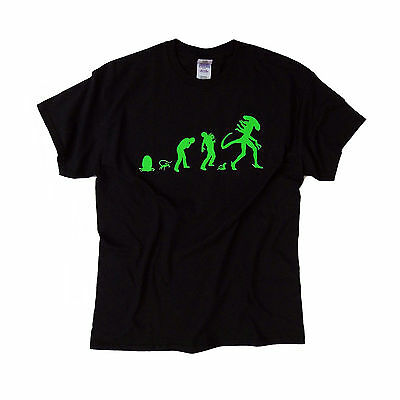 """High quality long-lasting print> """"ALIENEvolution"""" T shirt > S - 5XL available"""