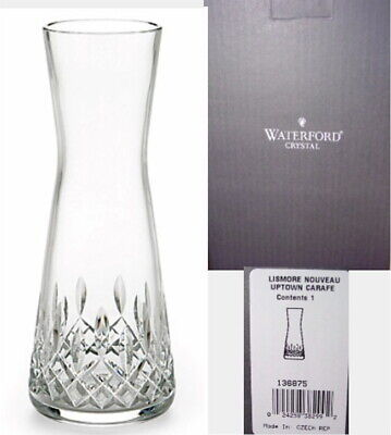 Waterford Crystal LISMORE NOUVEAU Uptown Carafe - NEW IN BOX!