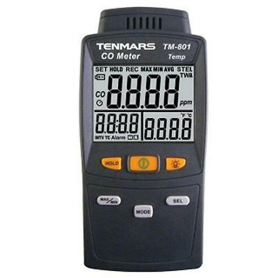 CO Carbon Monoxide Detector Tester Precision Gas Analyzer Tester TM801