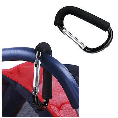 Modish Baby Pushchair Stroller Clip Hook Buggy Pram Carabiner Diaper Bag Hanger