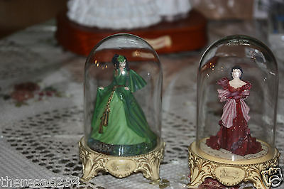 Franklin Mint Gone With The Wind Dome Figurine 1 Pick Out Which One