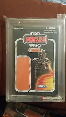 Star Wars UNPUNCHED EMPIRE STRIKES BACK Boba Fett Proof Card AFA 9.25 SDCC READ!