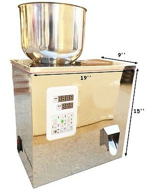 2-100G Granular and Powder Filler Popcorn Peppermint Filling Machine