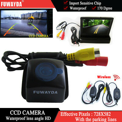 Wireless 4.3'' Monitor Car Reverse Camera for Toyota Prius06-10 Camry 09 10