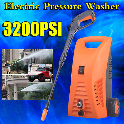 3200PSI Electric High Pressure Washer Water Cleaner Gurney Spray Gun Hose Pump A