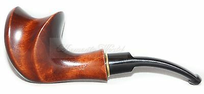 Hand Carved Tobacco Smoking Pipe * COMET * for 9 mm Made by Artisan, handmade
