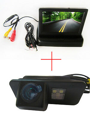 4.3'' Foldable  CCD Monitor Reverse Camera for FORD MONDEO/FIESTA/FOCUS/S-Max
