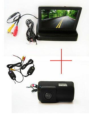 Wireless 4.3'' Monitor Car Reverse Back up CCD Camera for FORD TRANSIT CONNECT