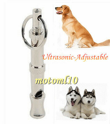 Frequency-Adjustable Silent Dog UltraSonic Whisle Dog Training Useful Gadget Mo
