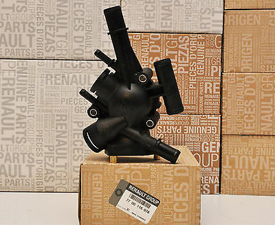 THERMOSTAT HOUSING RENAULT MEGANE I 2.0 i GENUINE OE RENAULT 7700116078