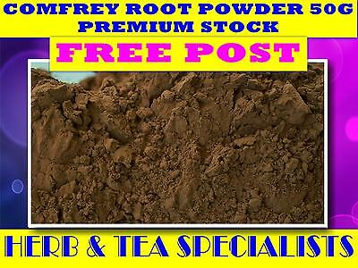 COMFREY ROOT POWDER 50G ☆Symphytum officinalis☆DRIED HERB☆PREMIUM ☆FREE POST