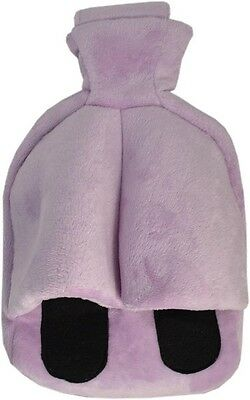 Vagabond Cosy Foot Warmer Hot Water Bottle Slipper: Lilac Cuddlesoft Fleece