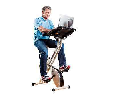 FitDesk X2.0 Pedal Desk-Cardio Fitness Exercise Workout Massage Bike- New Canada