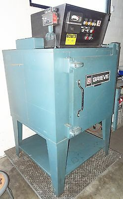 Grieve Aa-550 Cabinet Oven Max Temp 375 Three Phase Industrial Laboratory