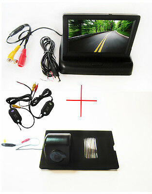 Wireless 4.3'' Monitor Car Reverse Camera for Land Rover Discovery Range Rover