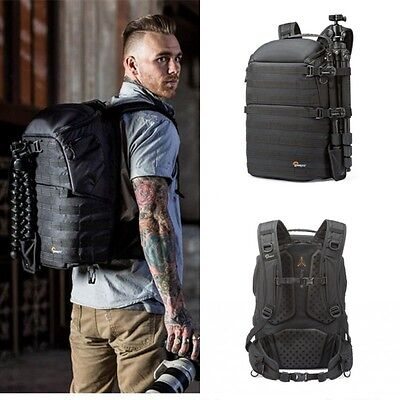 LowePro ProTactic 450 AW Mission Critical Camera Bag Laptop Backpack Rain Cover