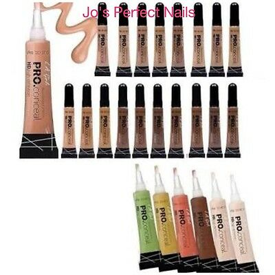LA L.A Girl Pro Conceal HD Concealer New & Sealed - All Colours You Choose