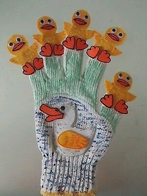 Felt Story/glove Puppet/educational Teacher Resource - 5 Little Ducks