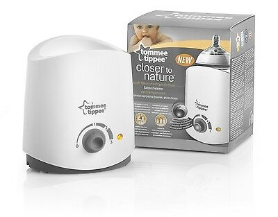 Tommee Tippee Electric Baby Bottle Formula Food Jars Warmer Heater Machine NEW