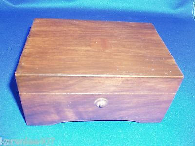 Swiss made  Music Box Thorens  3 Musical Tunes   Nice Collectible!