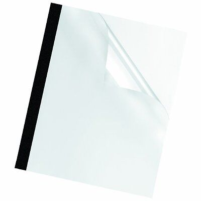Fellowes Thermal Binding Presentation Covers, Letter, 1/8 Inch, 30 Sheets, 10