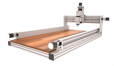 CNC Router Plans , 3 Axis with 2'x4' and 4'x2' and 4'x 4' informations