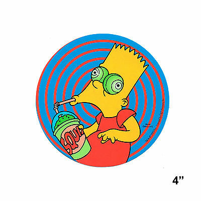 STICKER - The Simpsons Bart Squishee Vinyl Decal Official SB26