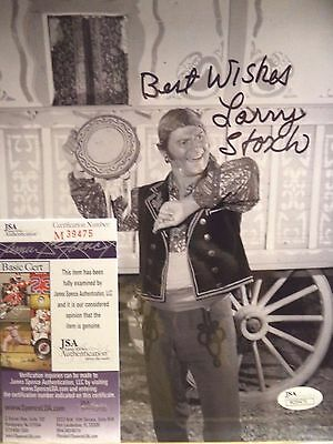 Autographed By ' Larry Storch ' F Troop 8 x10 Photo (JSA COA) FREE PRIORITY SHIP