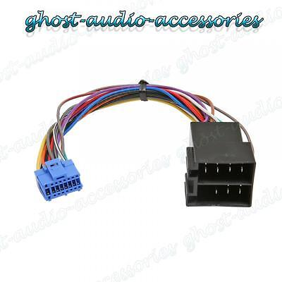 Pioneer Car Stereo Radio ISO Wiring Harness Connector Adaptor Cable PI-102