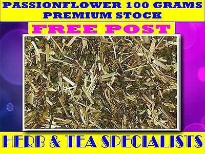 PASSIONFLOWER 100G ☆ PREMIUM STOCK ☆ Passiflora incarnata☆ DRIED HERB☆ FREE POST