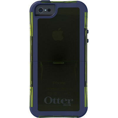 NEW OEM OtterBox Glow Green Punked Commuter Case Apple iPhone 5 Screen Protector