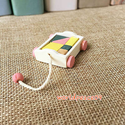 Dollhouse Playroom Toy Building Block Car Miniature Model Accessories