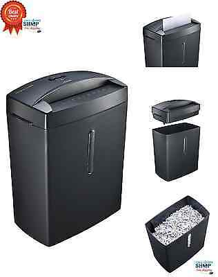 Doc Shred Micro Cut Paper Shredder Thermal Protection Office Home  Heavy Duty