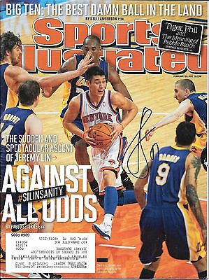 Jeremy Lin Autographed Feb 20, 2012 Sports Illustrated W/Coa