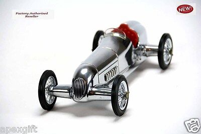 Silberpfeil Silver Arrow Grand Prix Model Race Car By Authentic Models New