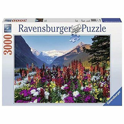 Puzzle 3000 Pezzi Flowery Mountains Ravensburger 17061