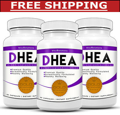 3 x DHEA - Mood and Hormone Management - Estrogen Boost - Memory Support