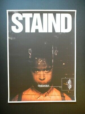 Staind Dysfunction poster! Aaron Lewis