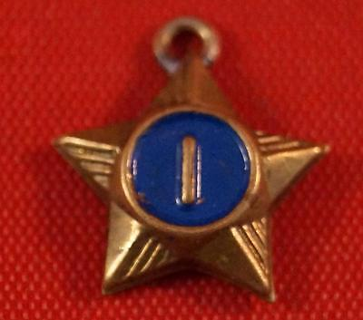 Vintage Boy Scouts Of America BSA 1 Service Star Pin Pinback