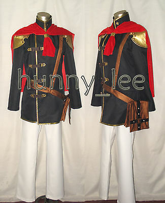 Final Fantasy Type-0 Ace Cosplay Costume FF Zero Custom-Made
