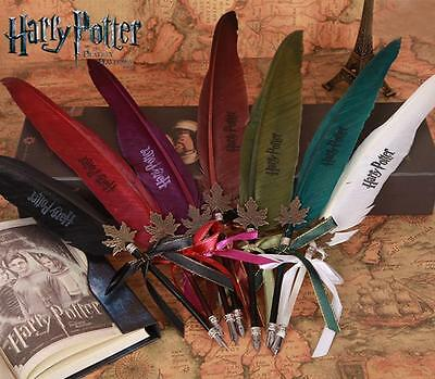 Harry Potter feather Quill Pen : Gryffindor Red