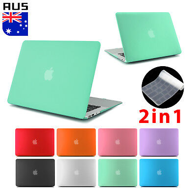 "Frosted Rubberized Case Keyboard Cover For MacBook 12"" Air 13"" Pro 13 15"" Retina"