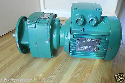 Leroy Somer Type Ls71/t  0.37Kw Motor With Gearbox 20 Mm Shaft