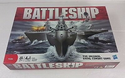 2011 Battleship Game Hasbro Original Naval Combat Strategy Game Complete Game