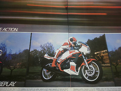 "YAMAHA RD 350 LC # ORIGINAL VINTAGE MOTORCYCLE ADVERT # 11""x 16"""