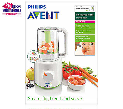 Philips Avent Combined Steamer And Blender Healthy Baby Food Maker 0% BPA