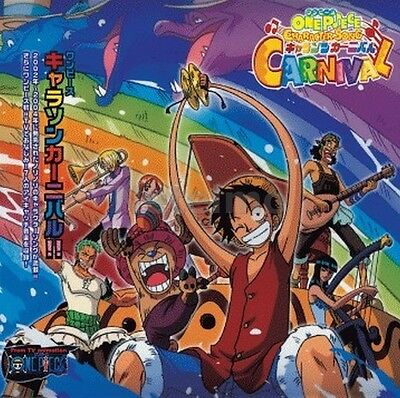 New 0450-1 One Piece CHARACTER SONG CARNIVAL Original Soundtrack Music CD OST
