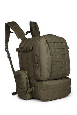 60L Outdoor Military Molle Tactical Backpack Sport Camping Hiking Bag GB005